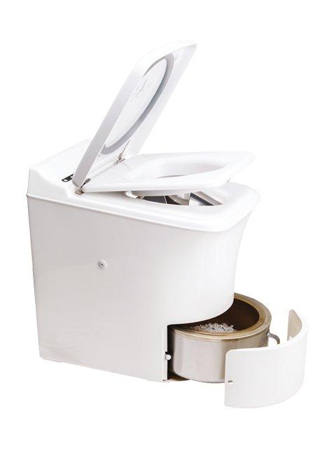 incinerator toilet