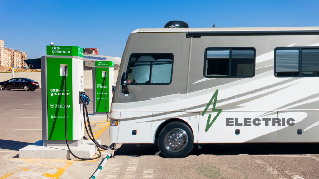Electric RV rapid Car Charger