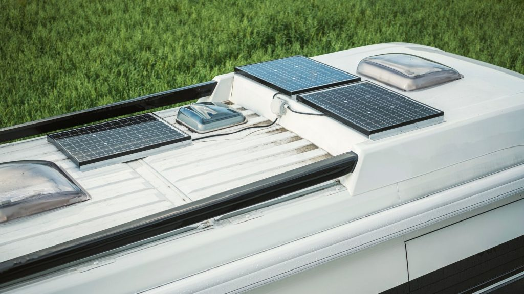 Solar panels on rv many affect asking price