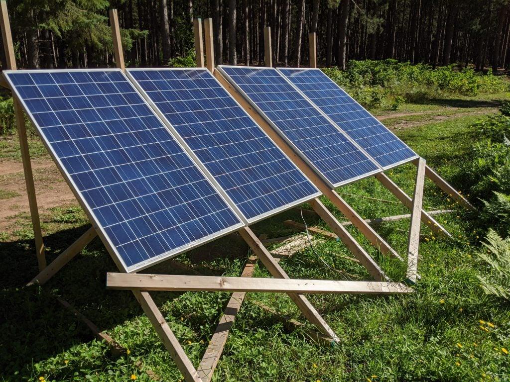 ground mounted RV solar