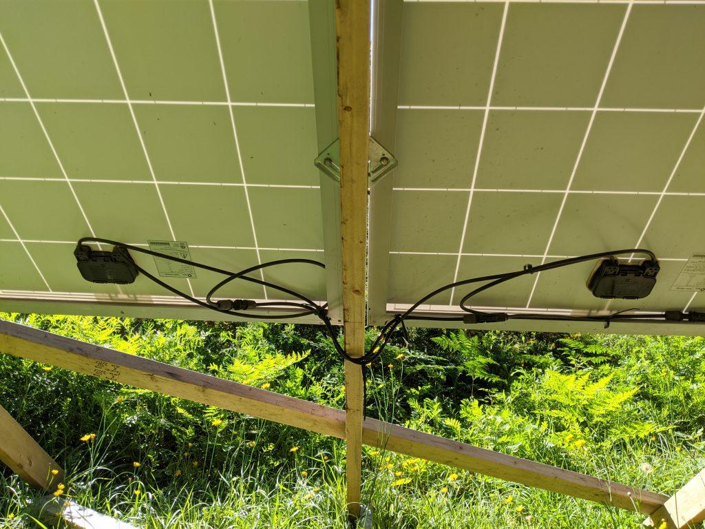 ground solar wiring