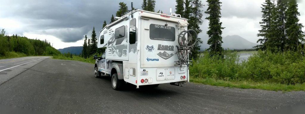 truck camper in alaska