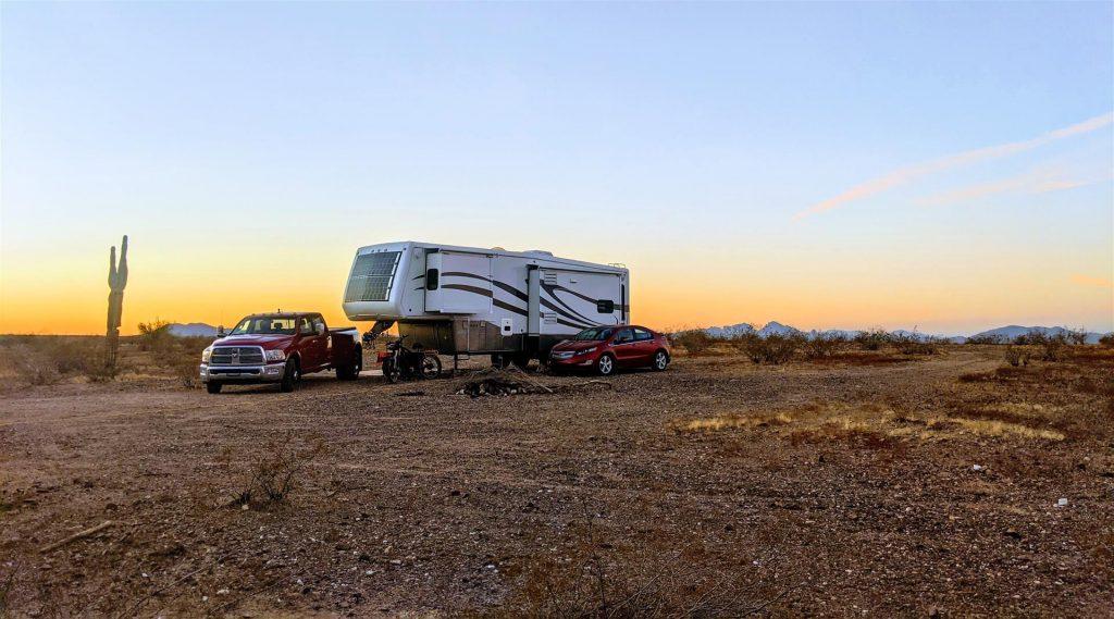 rv boondocking in arizona