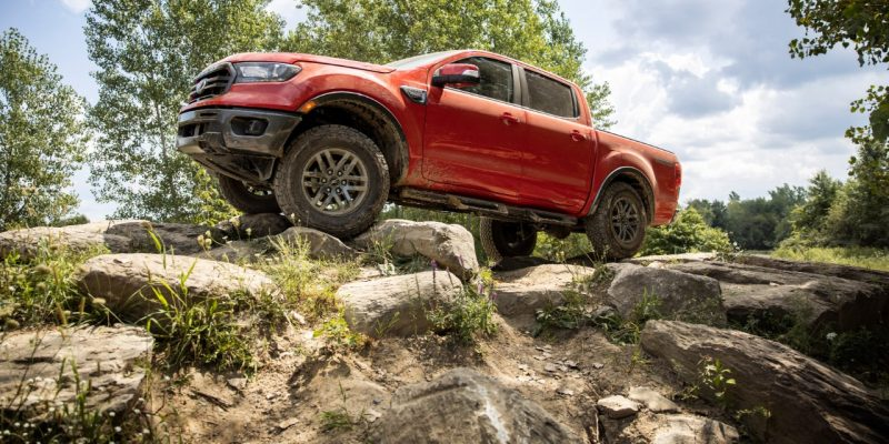 2021 ford ranger towing
