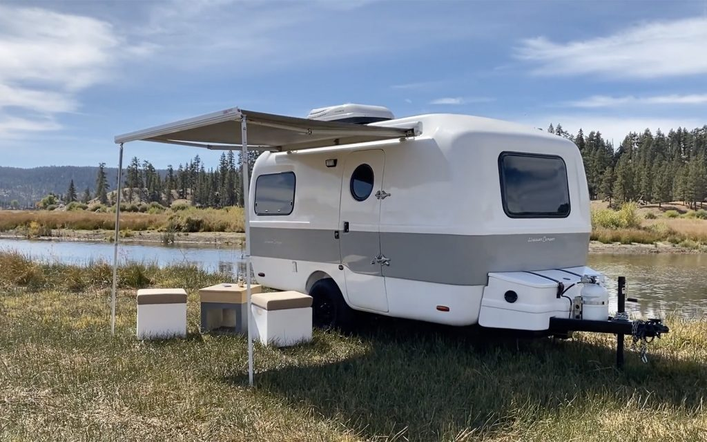 Happier Camper Small Camping Trailers with Bathrooms