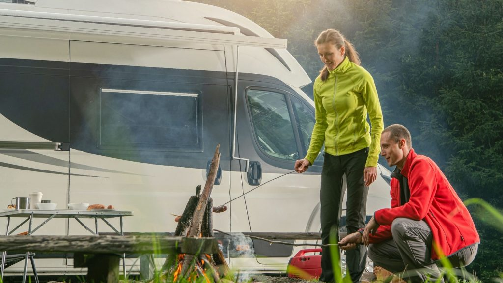 living in an rv to save money