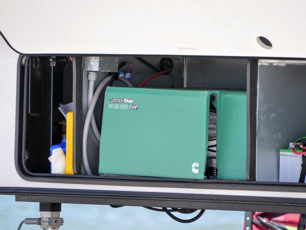 Built in RV generator