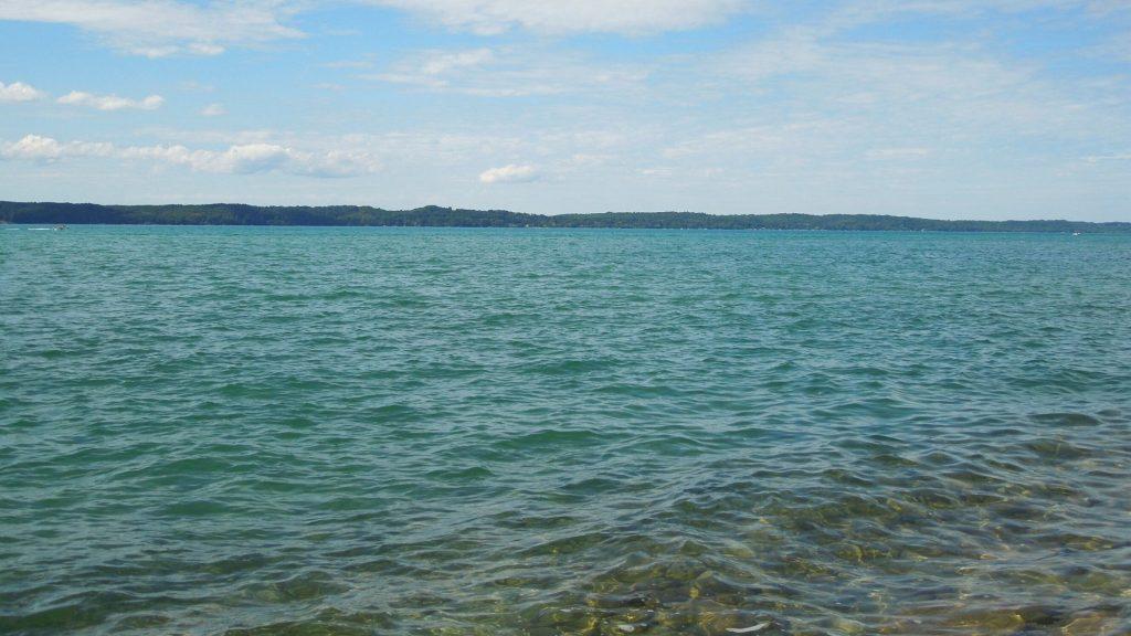 day at torch lake