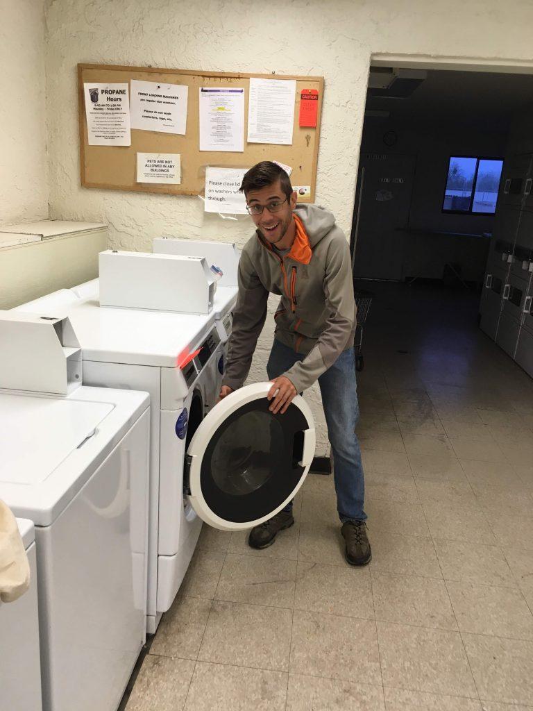 rv laundry day