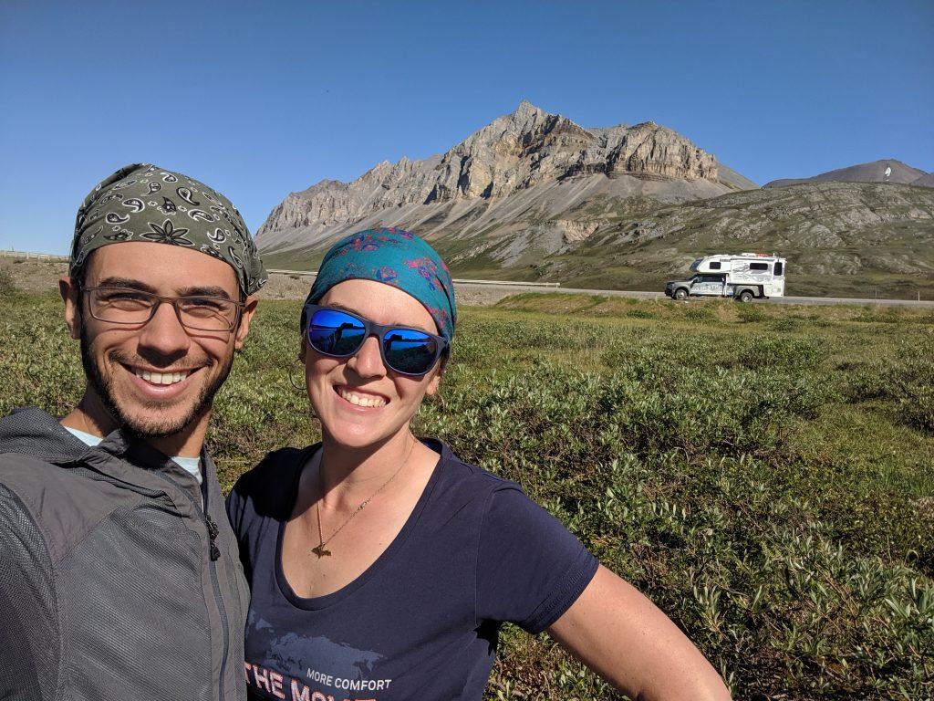 mortons and truck camper in Alaska