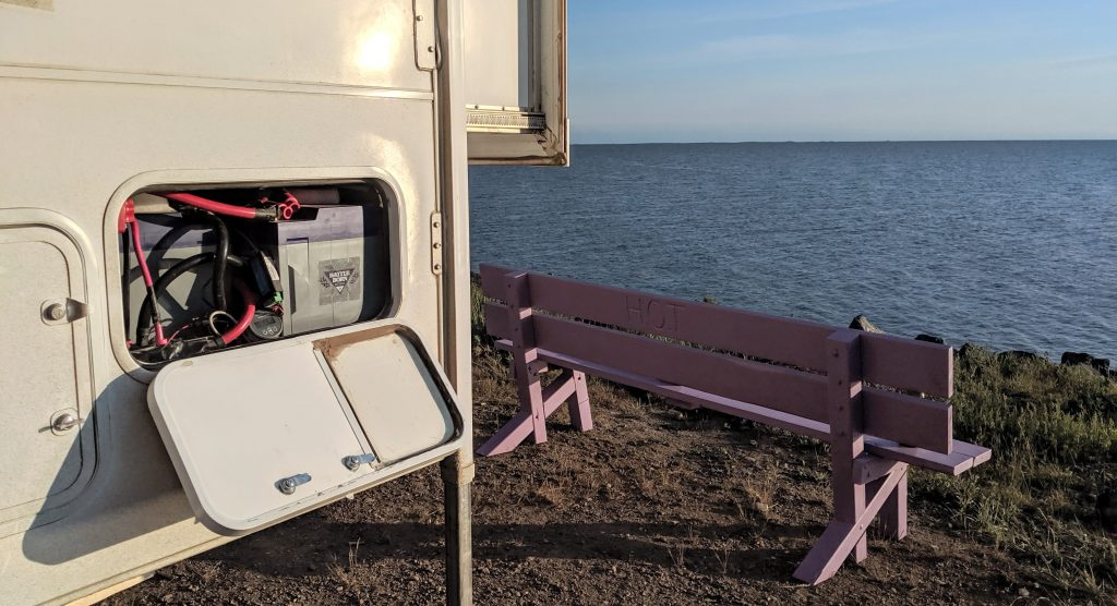 RV without generator
