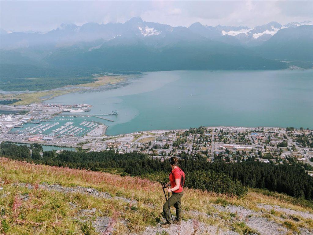 overlooking seward alaska