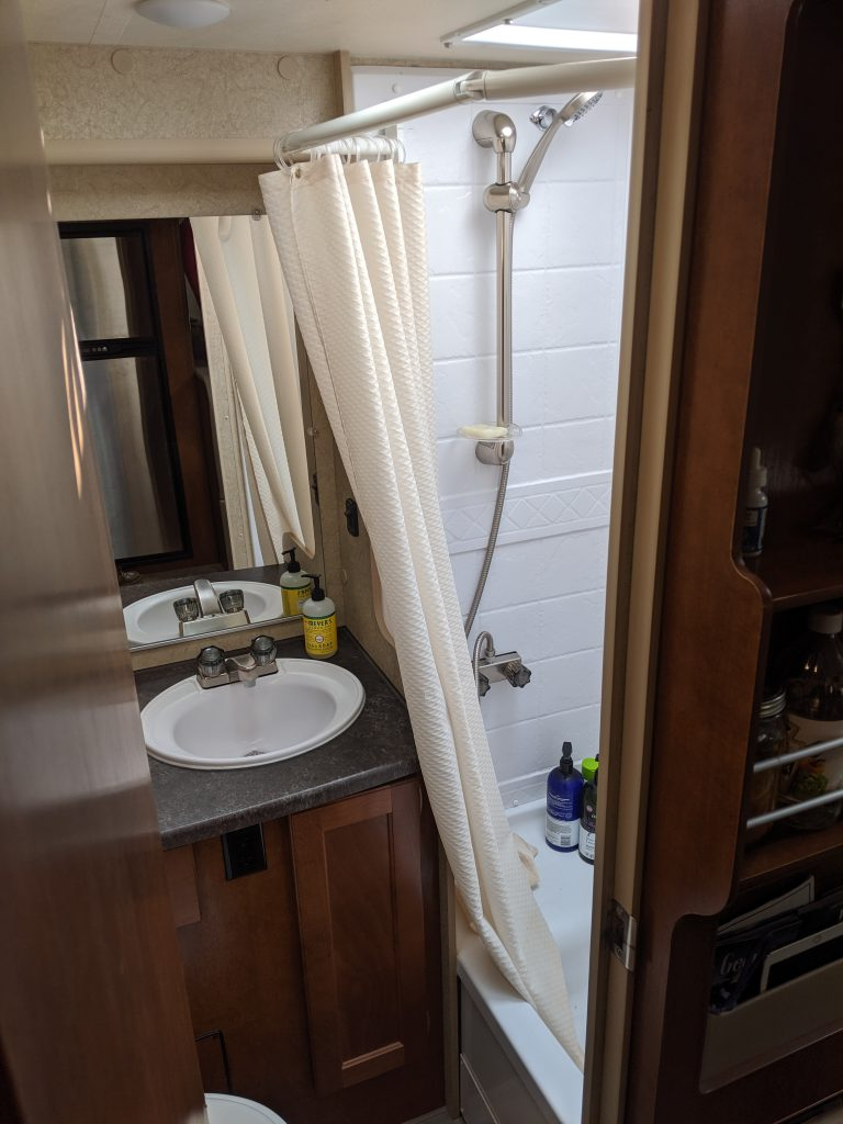 class B shower