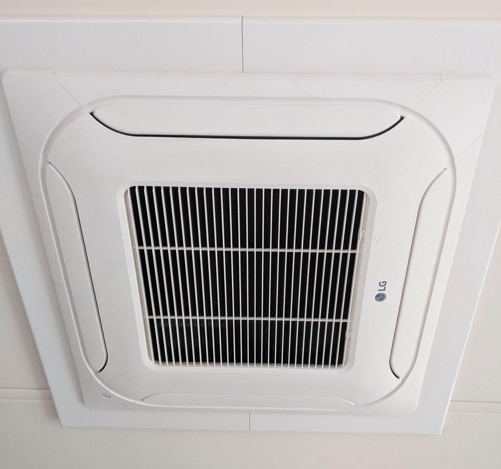 RV generator air conditioner