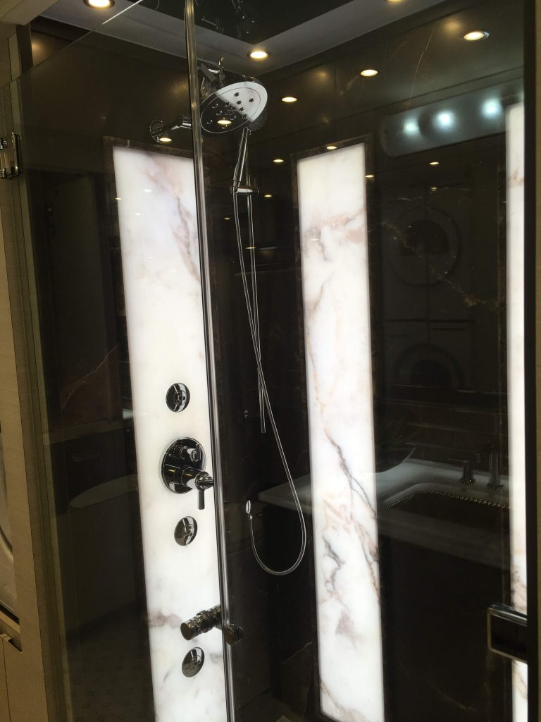 RV shower