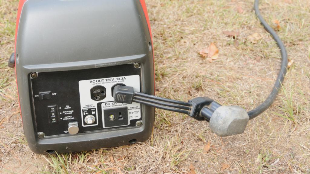 rv generator dogbone adapter