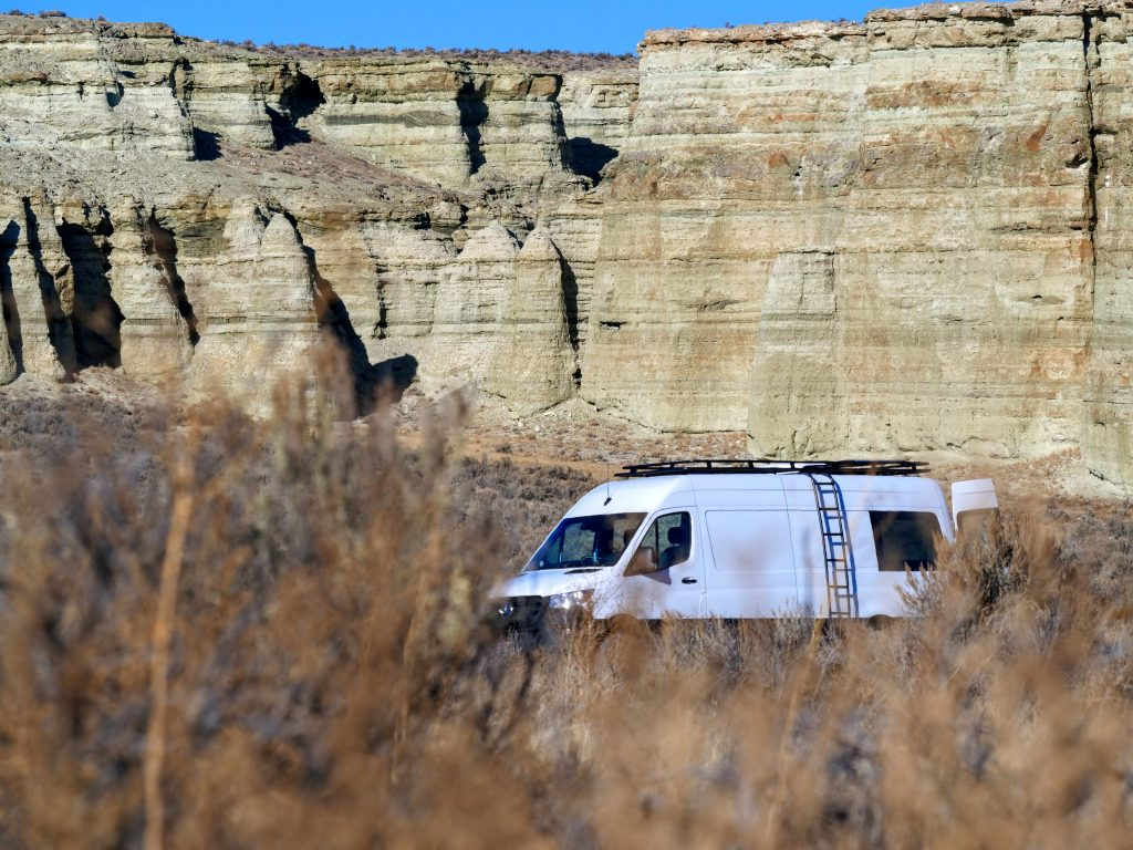 Free camping on BLM land