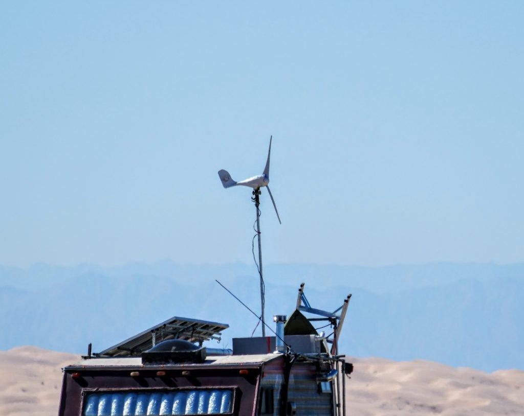 RV wind turbine