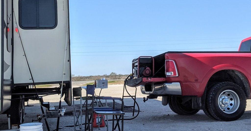 contractor generator for RV