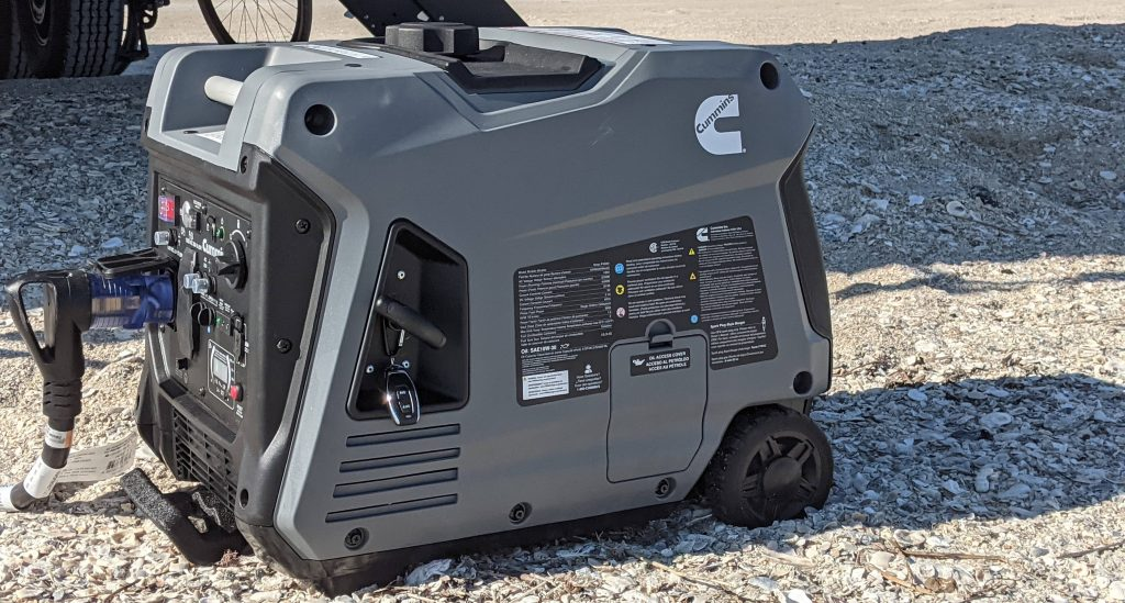 RV inverter generator