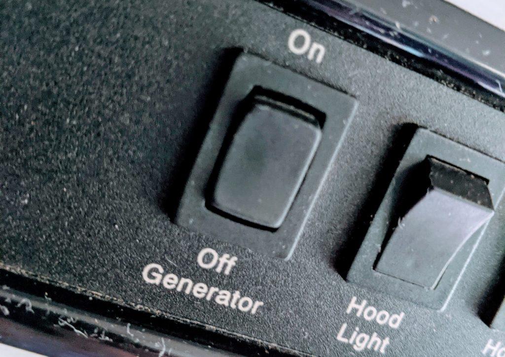 generator start stop RV