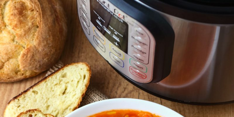 RV cooking instant pot
