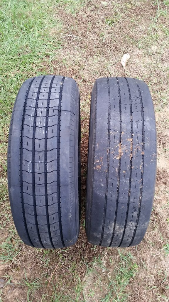 RV tire replacement