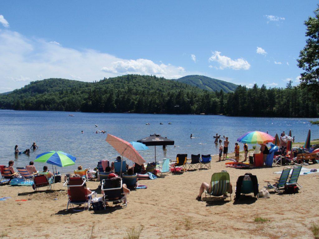 littlefield beaches campground in maine