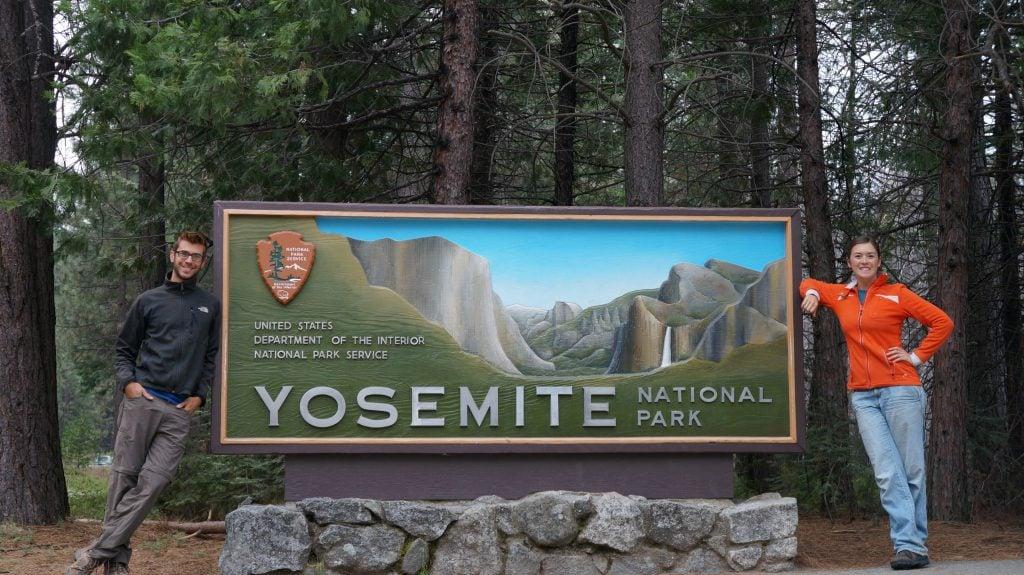 Tom and Caitlin Morton at Yosemite National Park