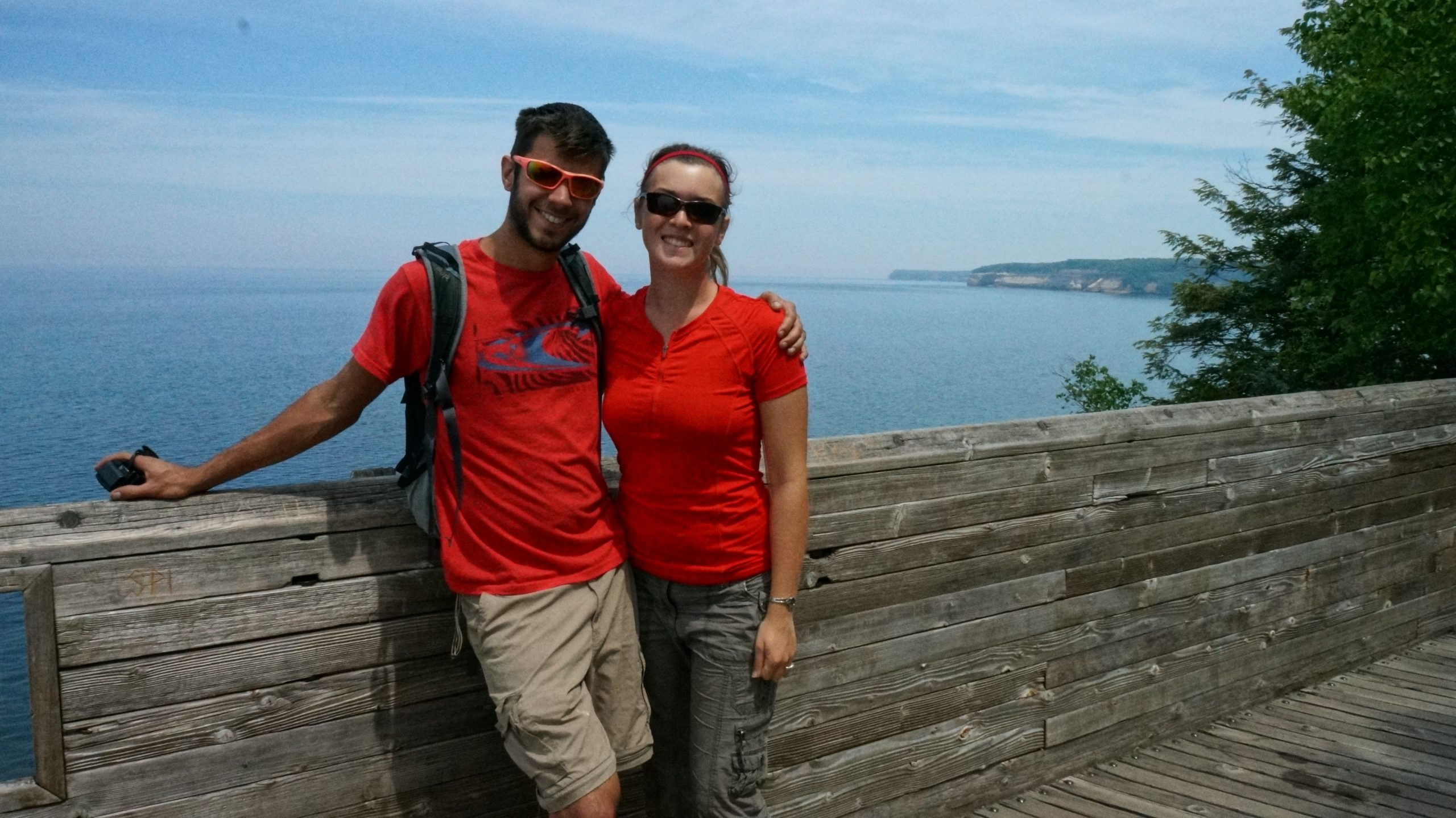 Mortons Hiking Pictured Rocks National Lakeshore in the Upper Peninsula
