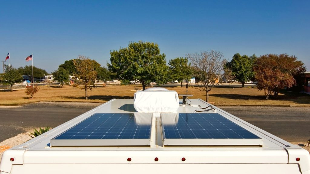 how much solar panels weigh needs to be considered for rvs