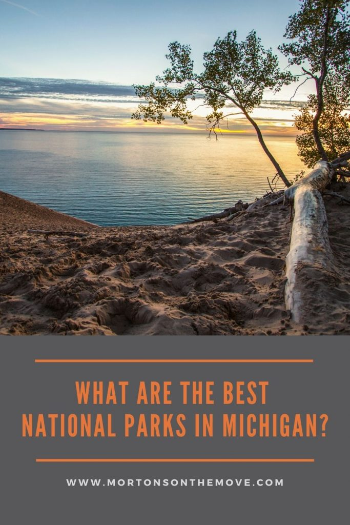 best national parks in michigan pin