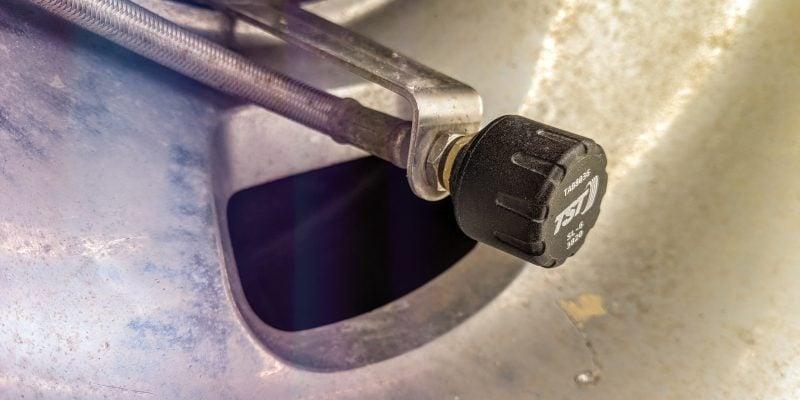 RV Tire pressure monitor sensor