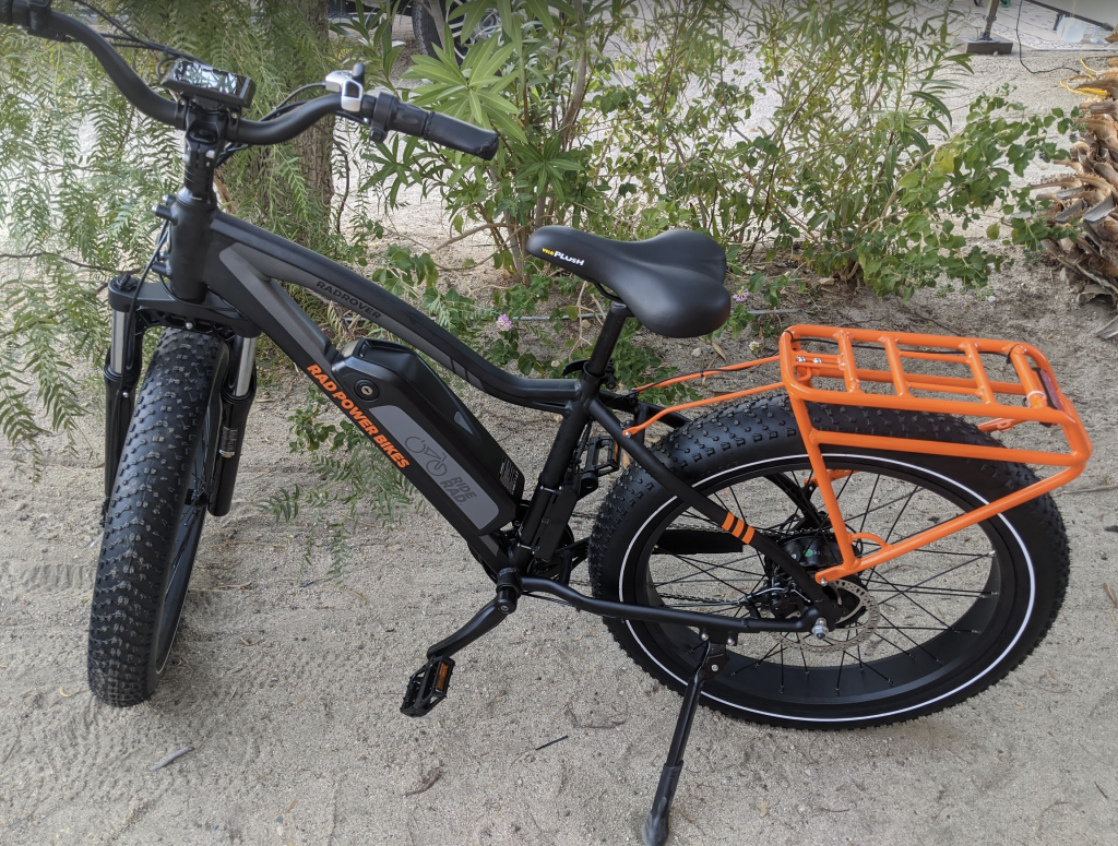 Rad Rover E-bike with lithium-ion battery