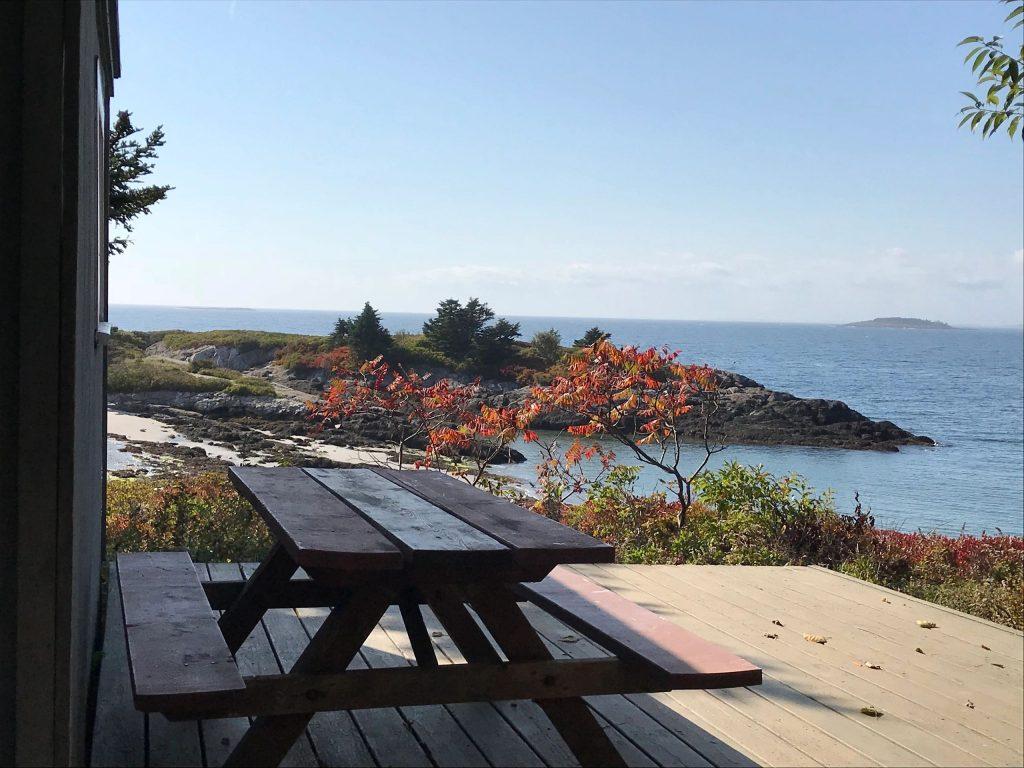 hermit island campground maine oceanfront