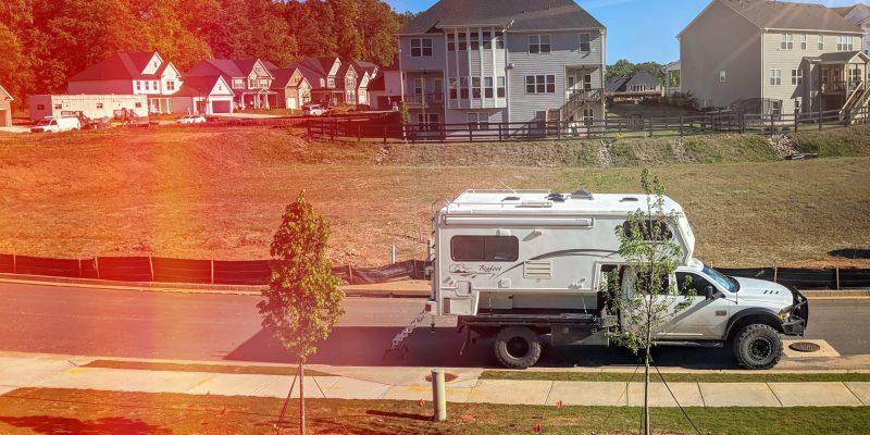 live fulltime in truck camper