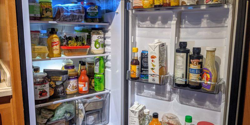 12V RV refrigerator