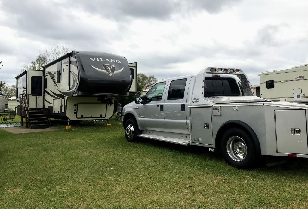 medium duty truck to haul rv