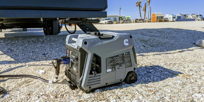 what size generator for rv