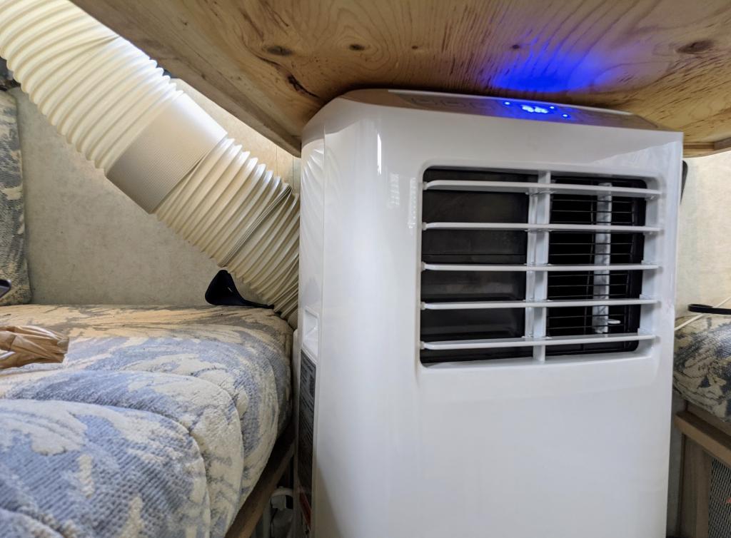 smallest portable air conditioner in RV