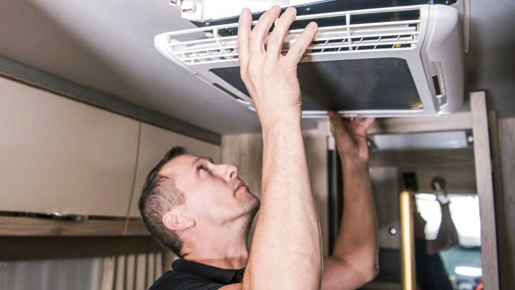 built in RV air conditioner