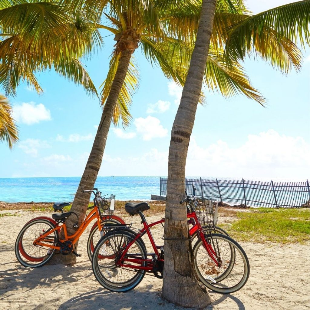 biking in the florida keys