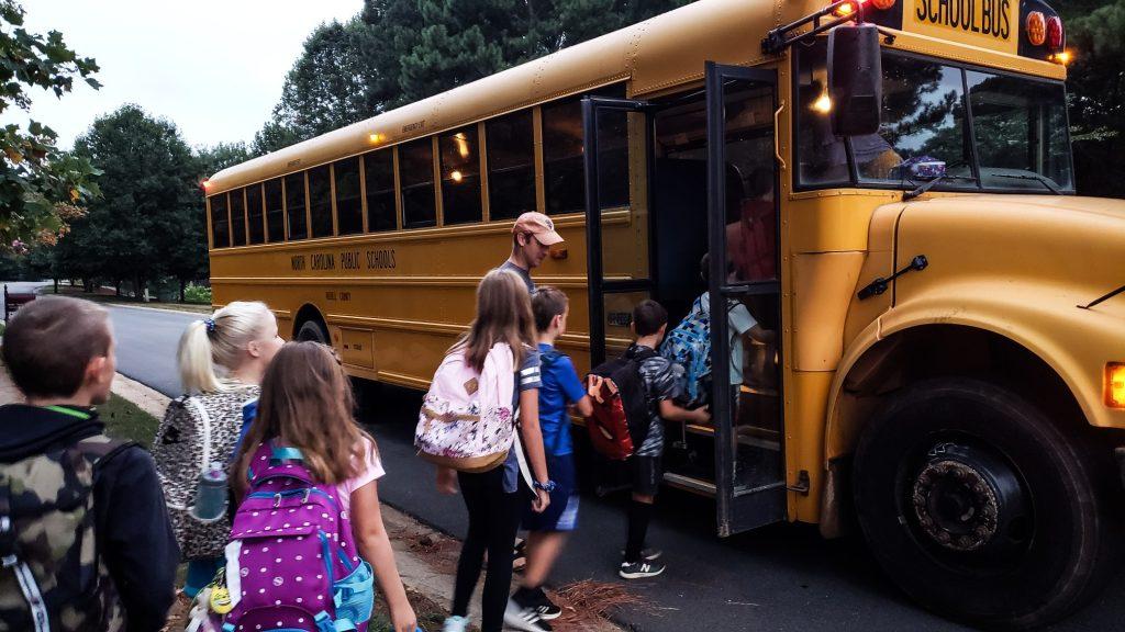 school buses are built for public transportation