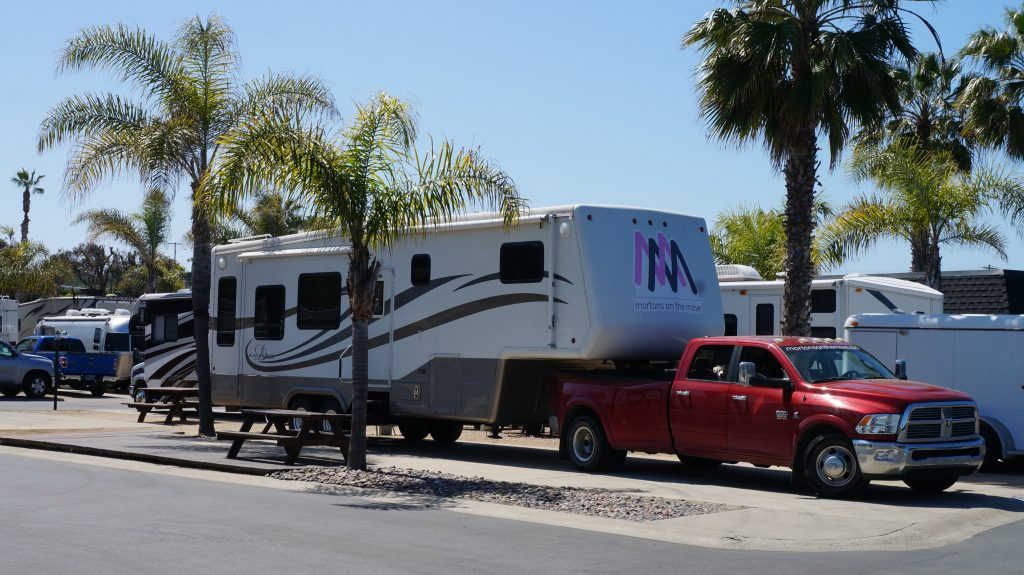 RV camping in thousand trails
