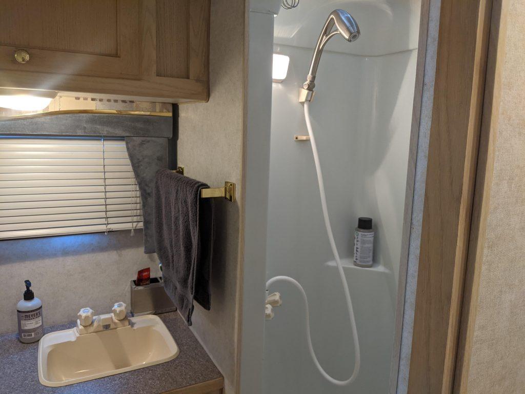 RV Showerhead
