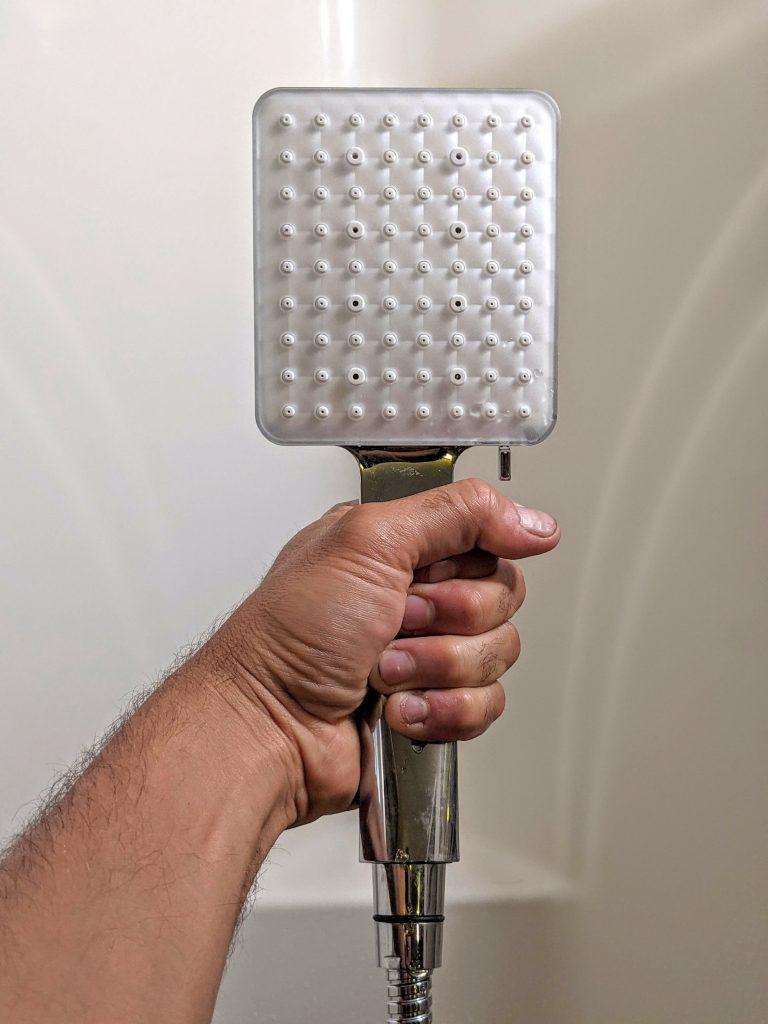 RV handheld showerhead