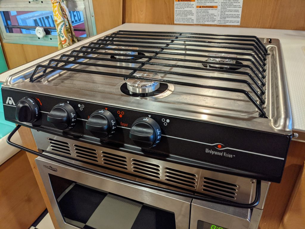 rv stove and oven range