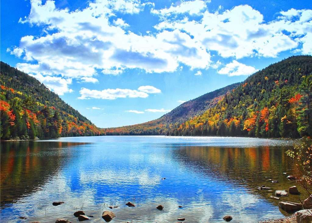 Acadia Nation Park, one of Maine's best national parks