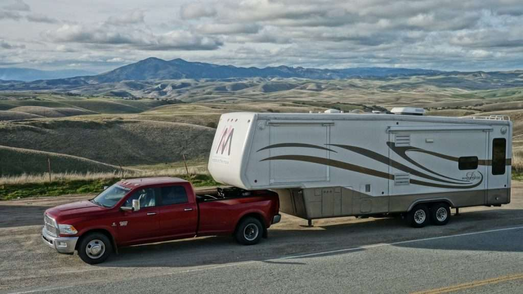 Keep your 5th wheel RV safe with a king pin lock