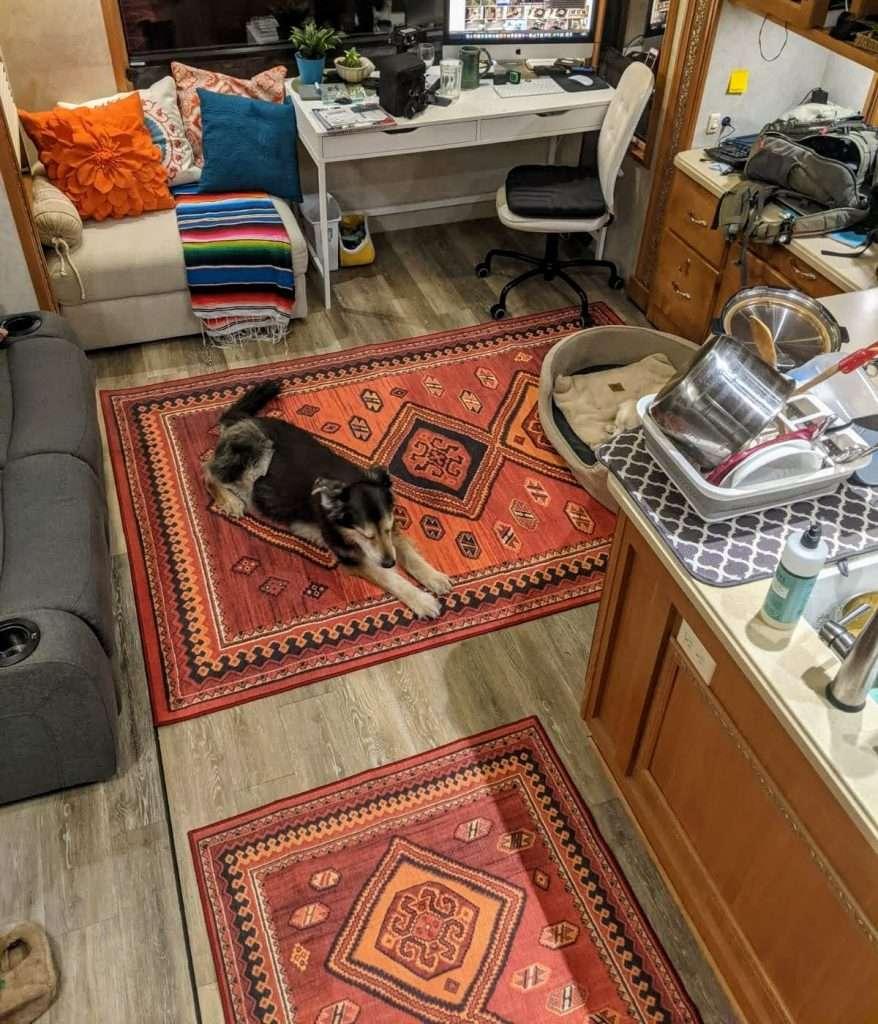 3' x 5' washable rug by my magic carpet